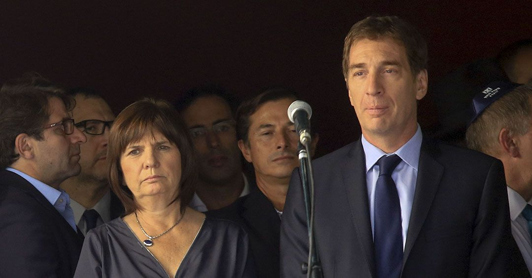 Diego Santilli y Patricia Bullrich