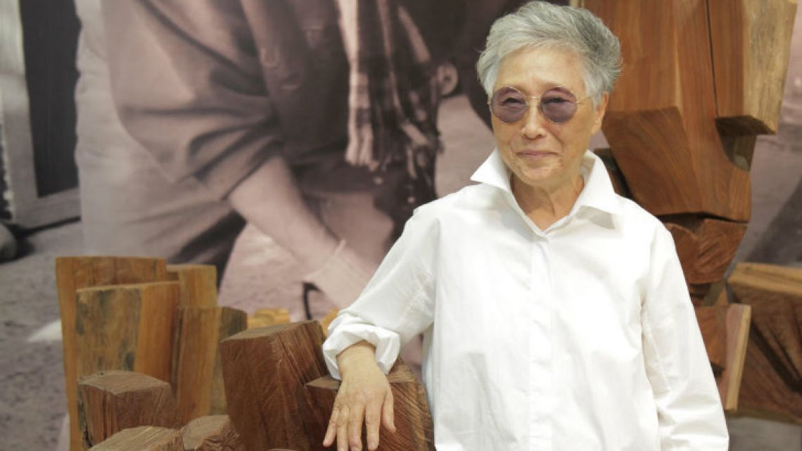 Kim Yun Shin, pictured at her museum in Flores.