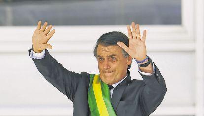 Lideres. Bolsonaro parece un clon de Trump más exagerado.