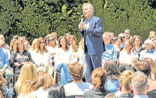 Gerundiando con Macri