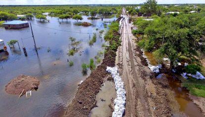 Inundación en el Litoral