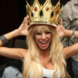 Vicky Xipolitakis en su cumpleaños de 2011