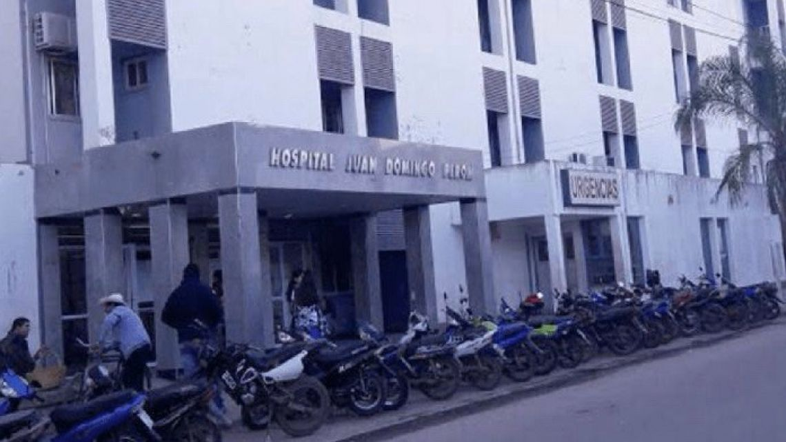 Tartagal Hospital in Salta province.