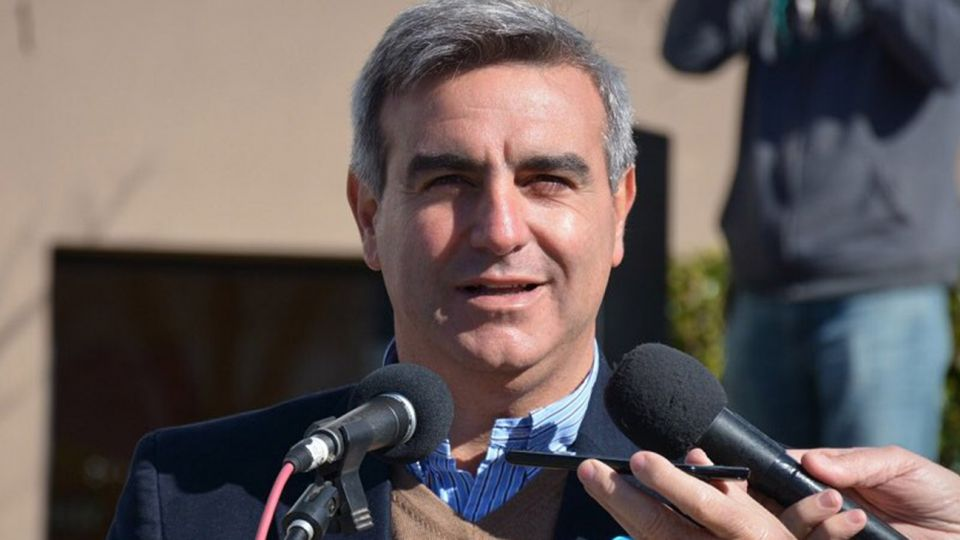 Paco Durañona, intendente de San Antonio de Areco