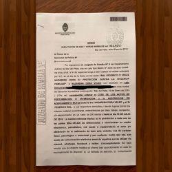 Documento judicial