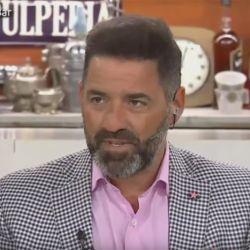 Mariano Iúdica, enojado porque su hija se va del país debido a la inflación.