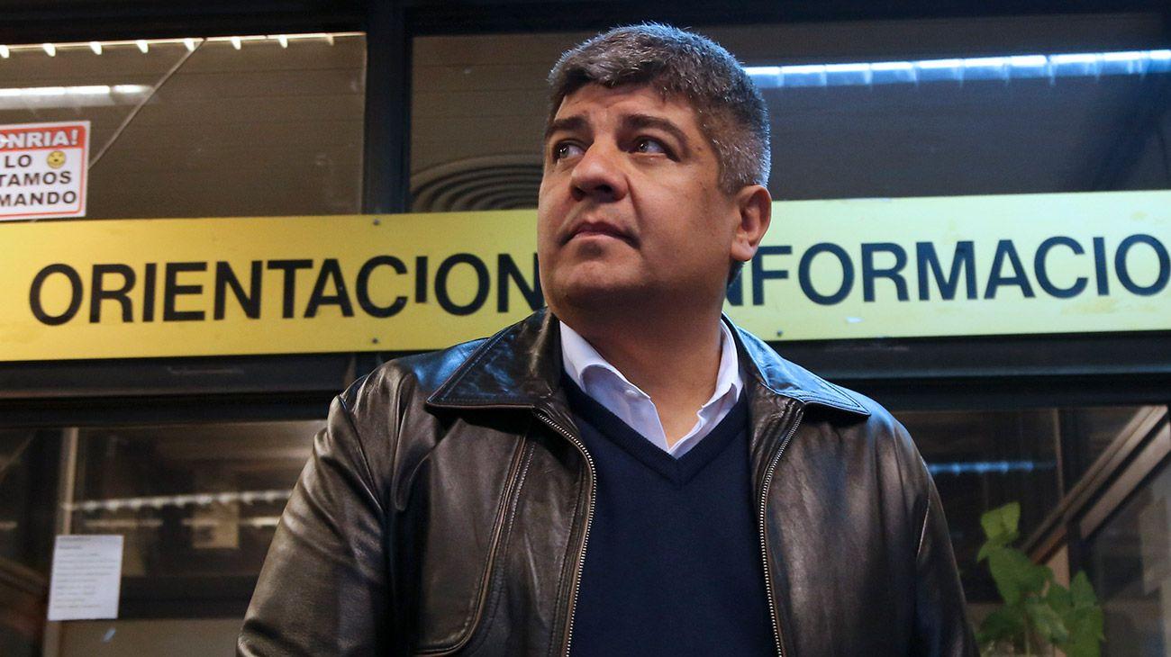 Pablo Moyano pondrá fecha a marcha masiva tras volver del Vaticano