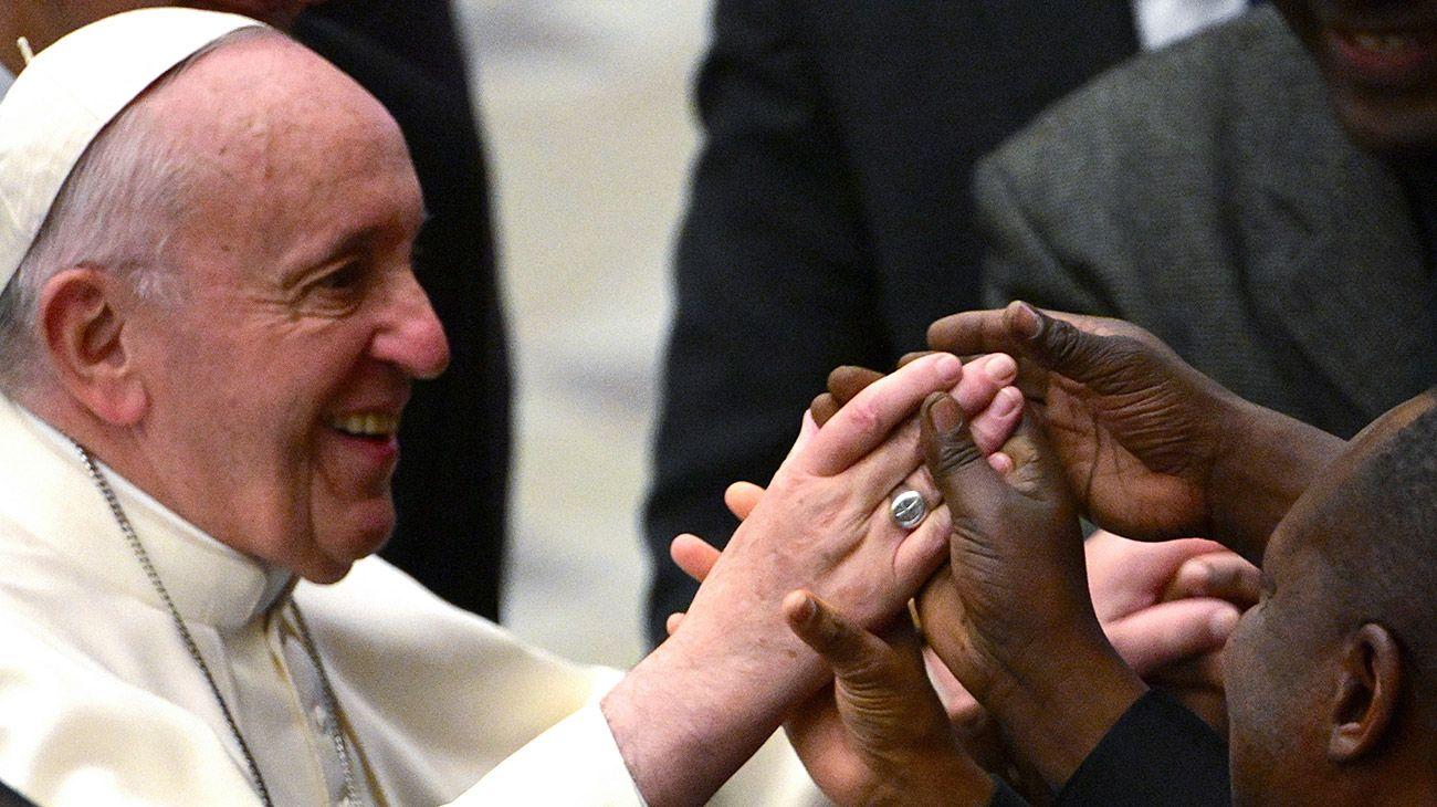 El Papa Francisco en la audiencia general.