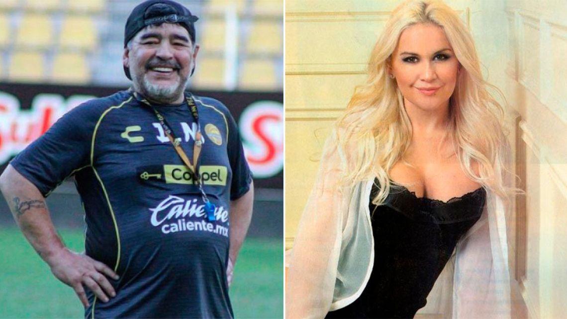 Rocío Oliva confirmó su separación de Maradona y reveló los motivos