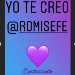 El mensaje de apoyo de Érica Rivas a Romina Seferián