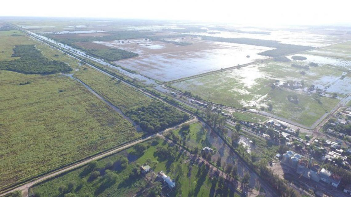 Millions of hectares of farmland are underwater; many crops won't come back