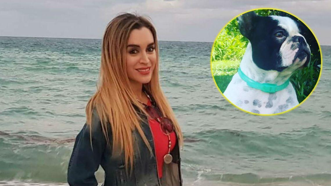 Fátima Florez, desesperada por su perra.