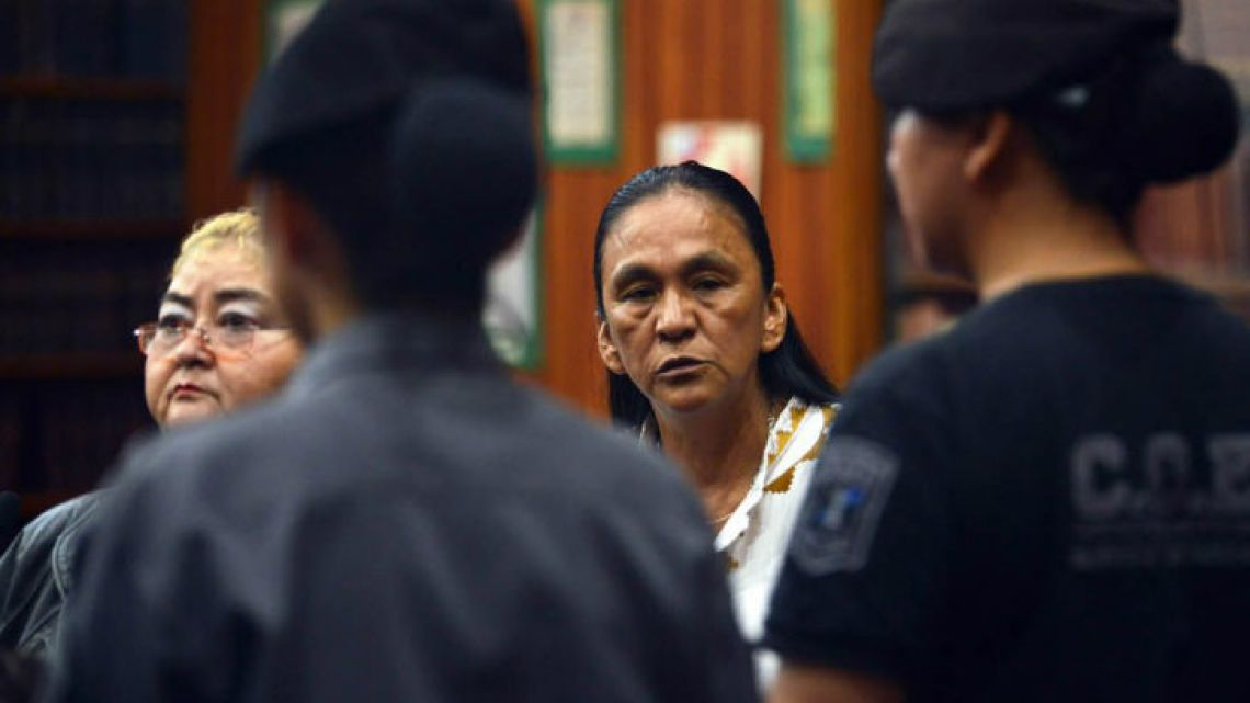 Jujuy social activist leader Milagro Sala was sentenced.