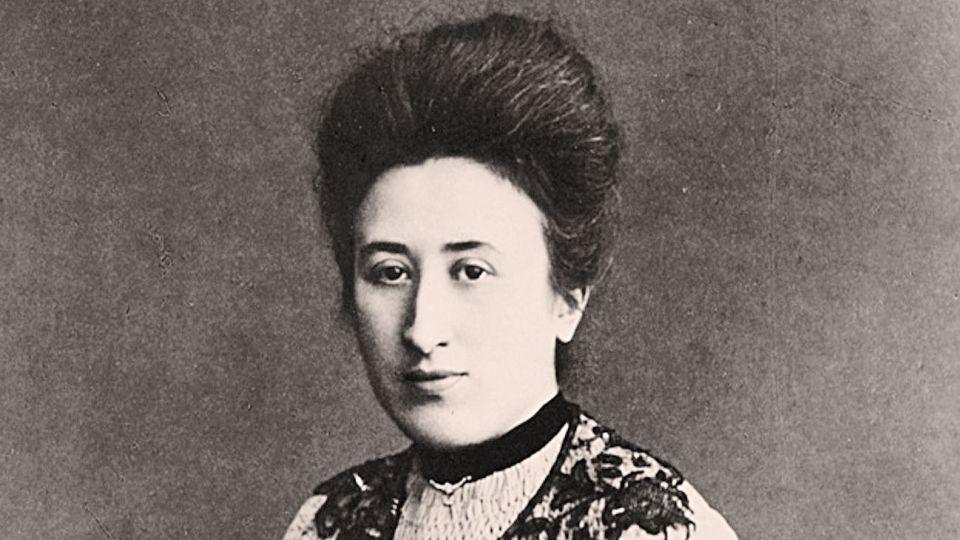 Rosa Luxemburgo. Ddefendió el rol y la importancia de la mujer en la lucha de clases.