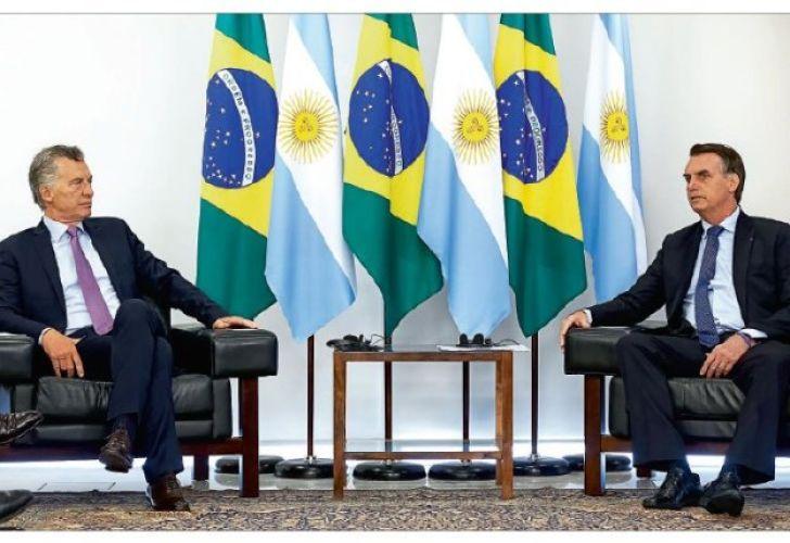 Macri y Bolsonaro