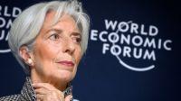directora general del Fondo Monetario Internacional, Christine Lagarde