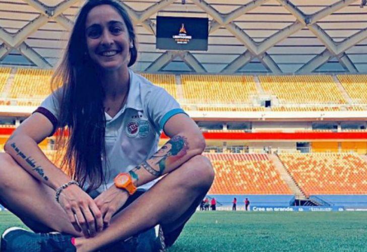 Macarena Sánchez sobre el fútbol femenino profesional