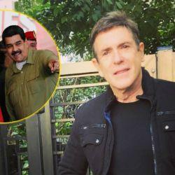 El actor venezolano duro con Maradona.