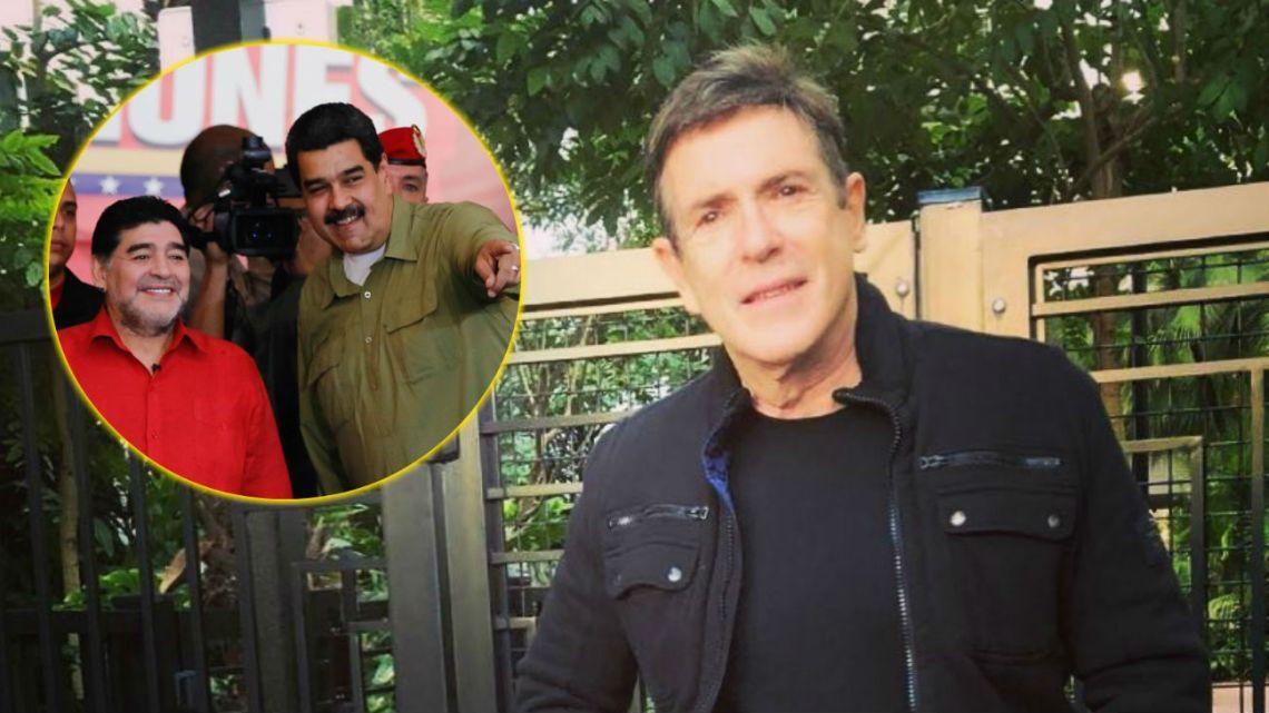 Carlos Mata destrozó a Maradona por apoyar a Nicolás Maduro