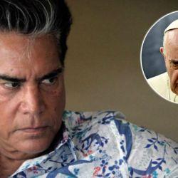 E artista volvió a criticar al sumo pontífice.
