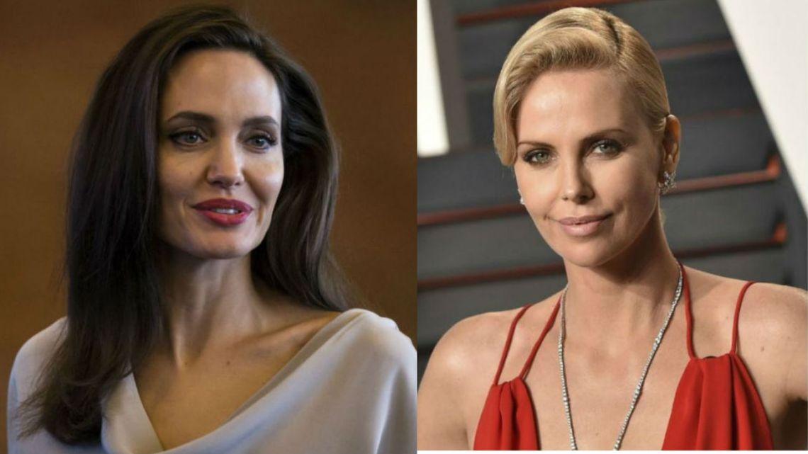Angelina Jolie y Charlize Theron