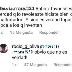La ex de Maradona le respondió a Ventura.