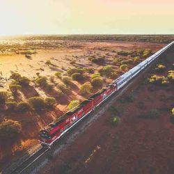 The Ghan tren de lujo Australia