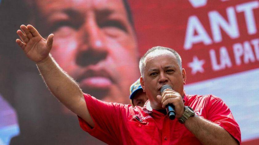 El número 2 del régimen chavista levantó aún más la tensión.