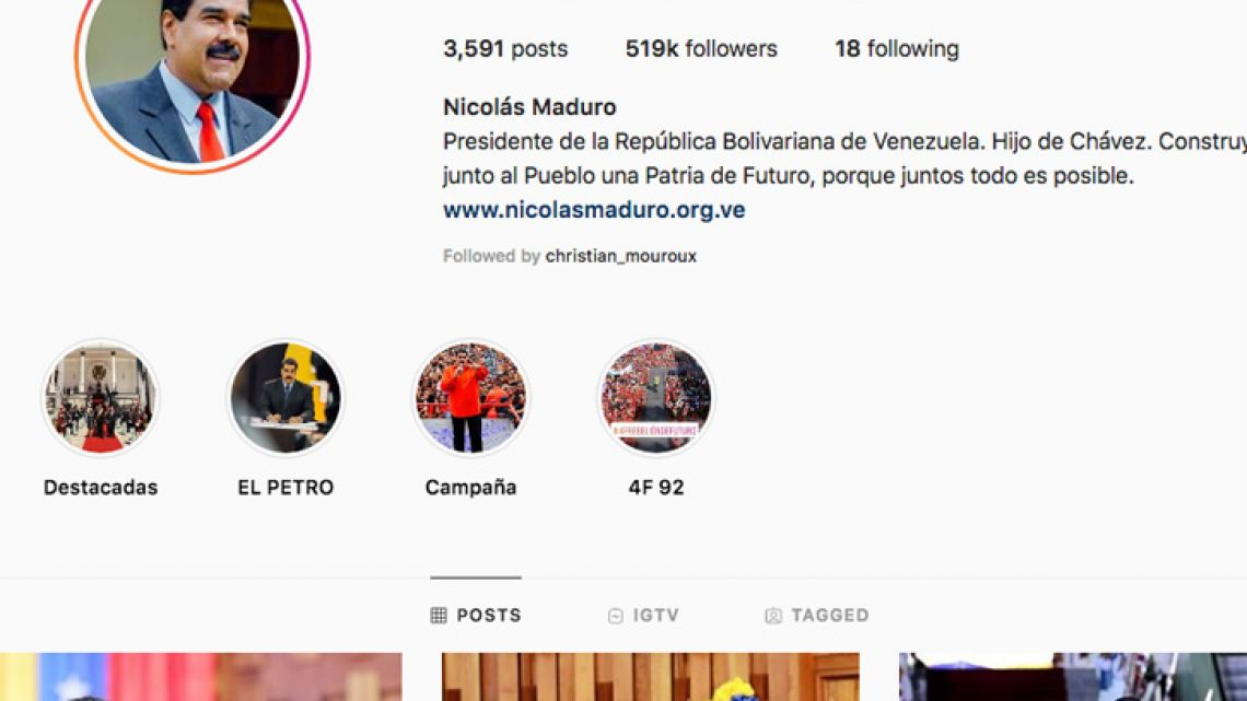"Several media outlets and Internet users falsely claimed that Facebook and Instagram had ""unverified"" Venezuelan President Nicolás Maduro's accounts Wednesday and given ""verified"" check marks to those of National Assembly head Juan Guaidó."