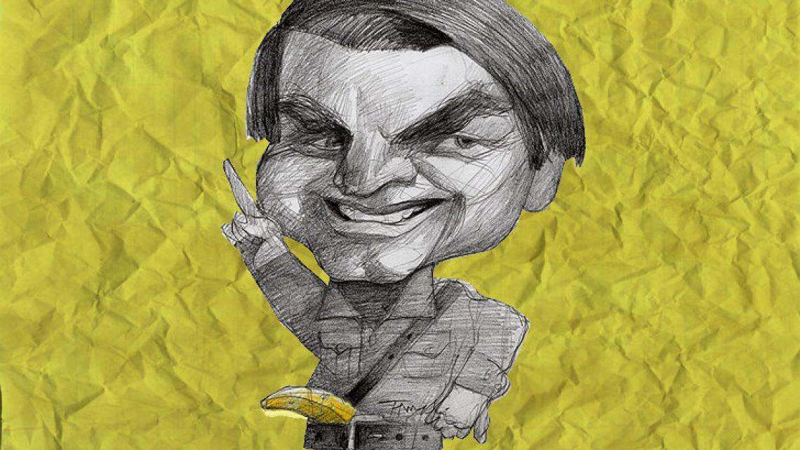 Brazil's president Jair Bolsonaro.
