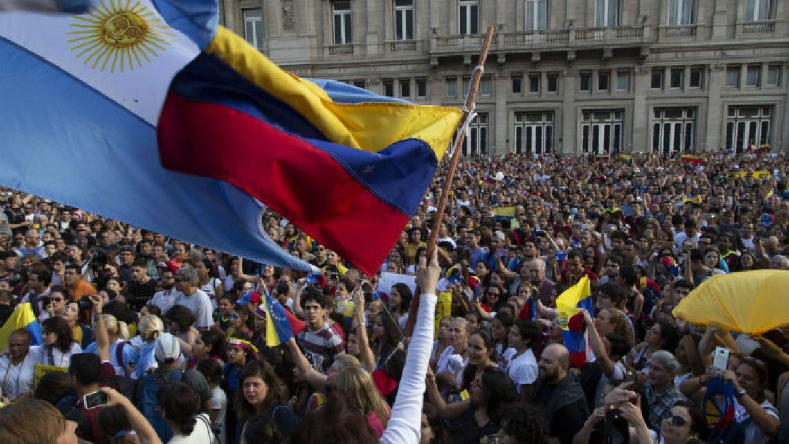 The crisis in Venezuela.
