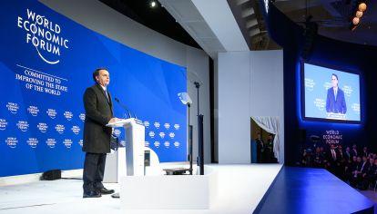 Davos. Bolsonaro fue una estrella fugaz y Dujovne habló ante un auditorio desinteresado.