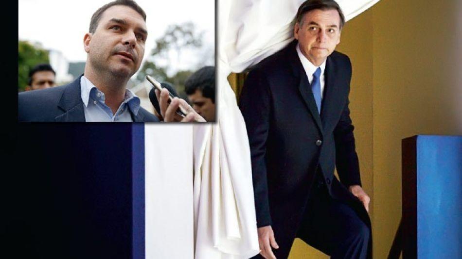 Flávio Bolsonaro, el hijo del Presidente con cuentas oscuras