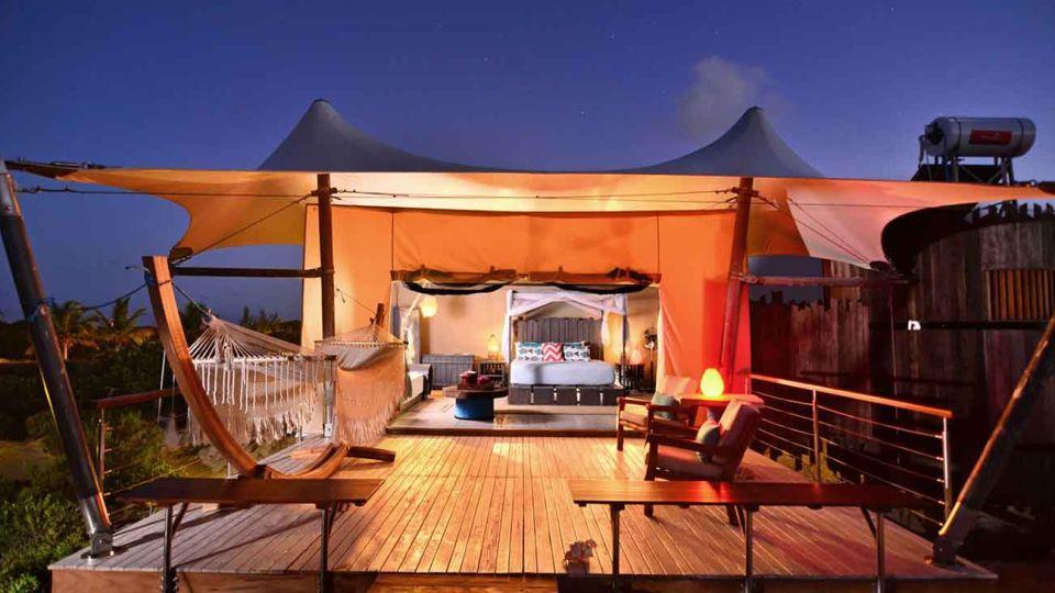 Glamping. Anegada Beach Club, Islas Vírgenes Británicas 26012019