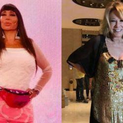 Moria Casán y Soledad Silveyra