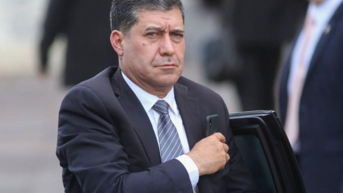 Governor Sergio Casas.