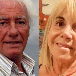 Guillermo Coppola y Claudia Villafañe