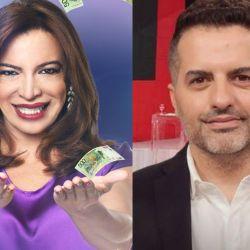 Lizy Tagliani y Ángel De Brito