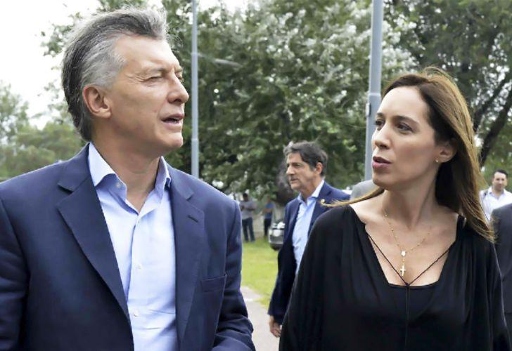Maria Eugenia Vidal - Mauricio Macri