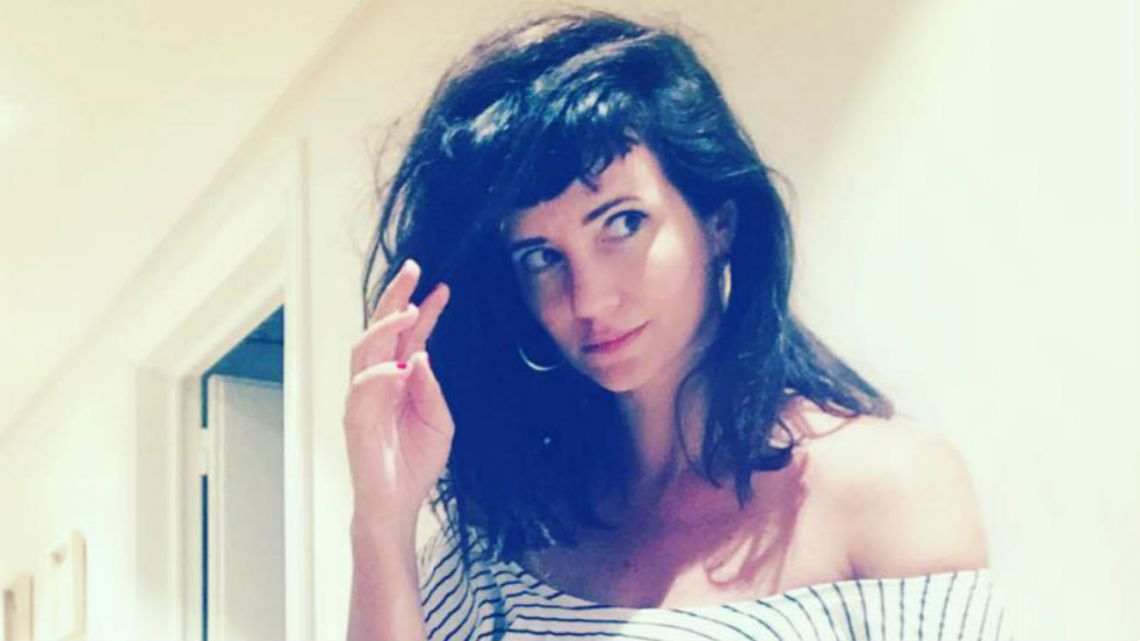 "La foto hot de Griselda Siciliani en ""modo plomero"""