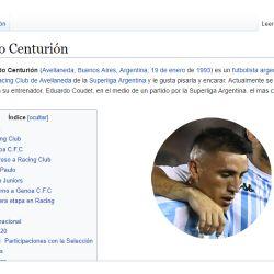 centurion wikipedia cargada cedoc