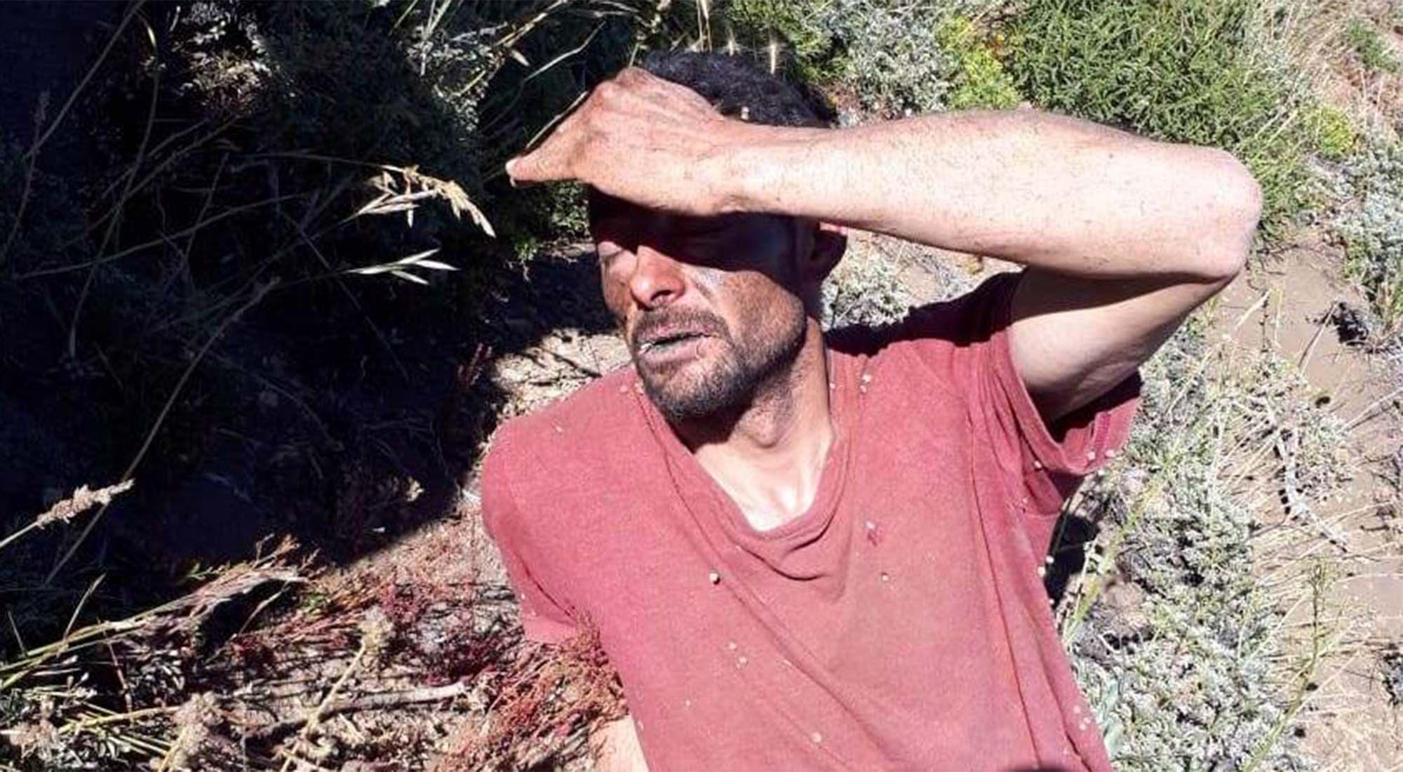 """""""Lo hice sin pensar"""", confesó el femicida que había sido detenido en una montaña"""