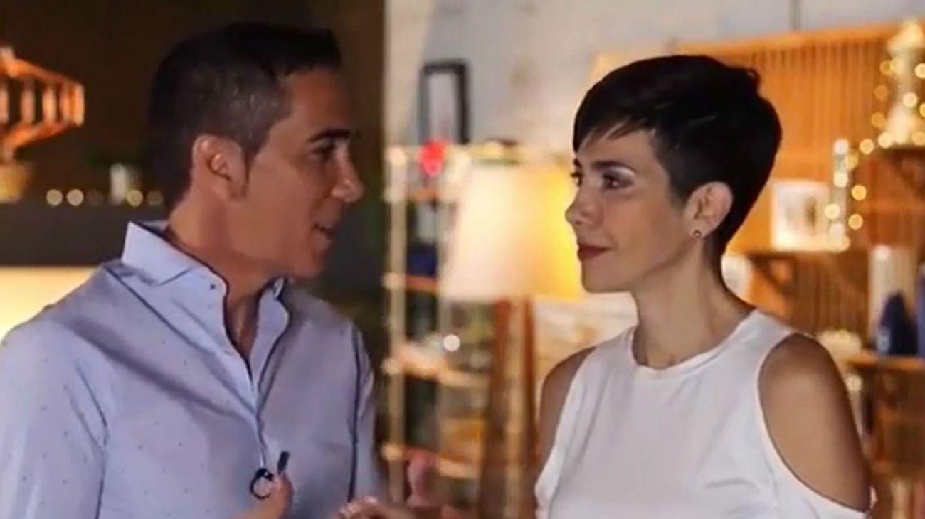 La romántica promoción de la vuelta de Cristina Pérez y Rodolfo Barili