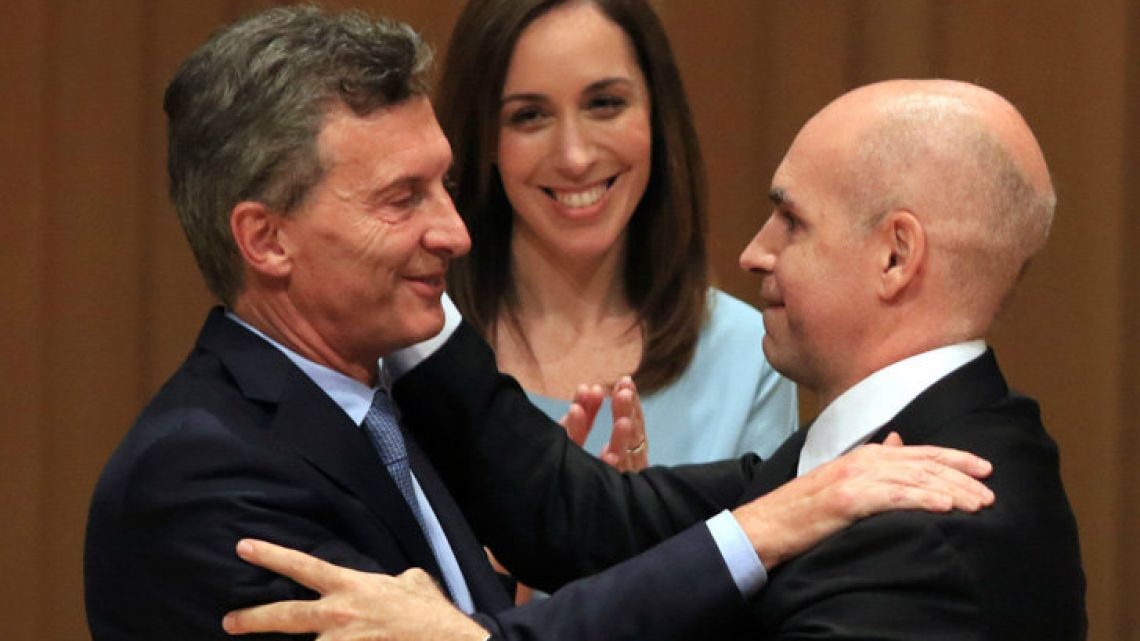 Vidal will be going to the polls on the same day as Mauricio Macri, October 27.
