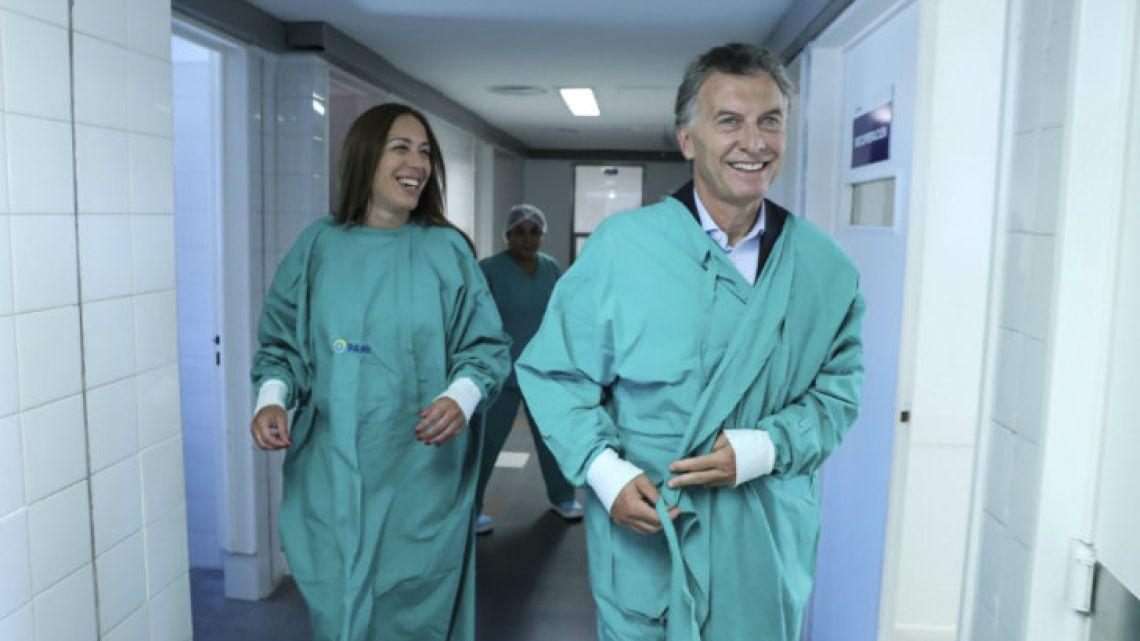 Macri and Vidal.