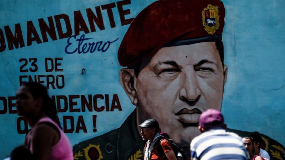 Hugo Chávez Mural de Caracas