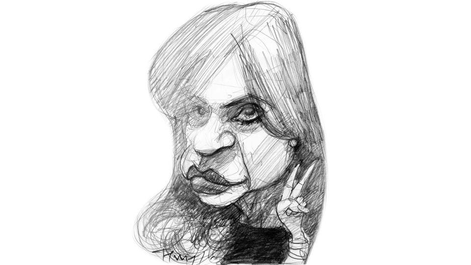 Por la vuelta, Cristina Fernández.
