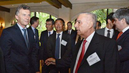 HOUSTON... Macri, Bulgheroni y Gutiérrez, en EE.UU.