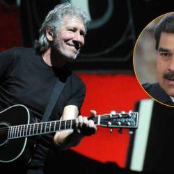 Roger Waters y Nicolás Maduro