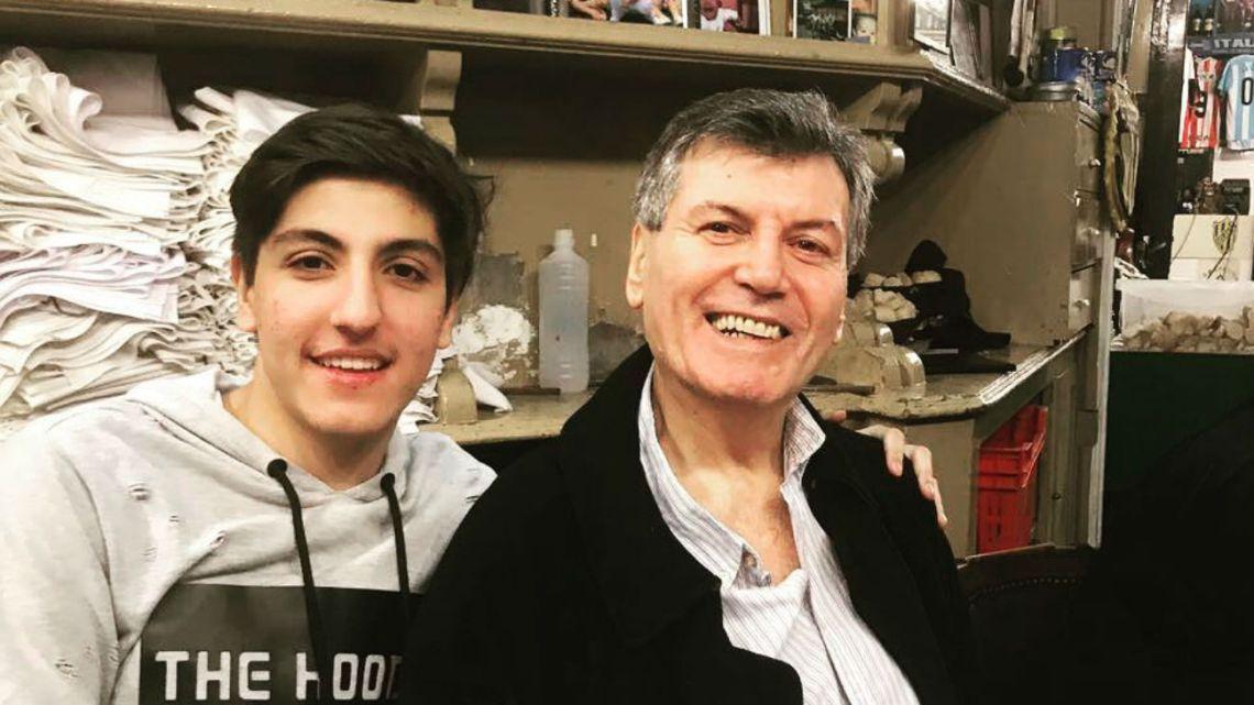 Carlin y Facundo Calvo